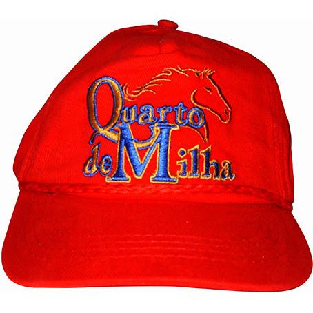 0f1f9e0945 BONE QUARTO DE MILHA - Selaria Santa Rosa RS